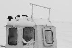 Port w Nidzie - kabina kutra rybackiego